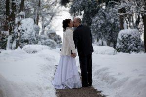 matrimonio sotto la neve a Villa Rota - Location per matrimoni