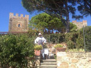 Ricevimento di nozze al castello con Dove Vuoi Catering - catering per matrimoni