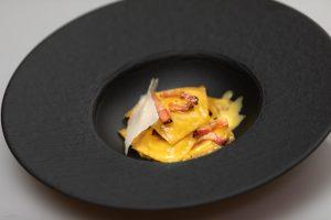 menù chef walter bianconi ravioli pancetta